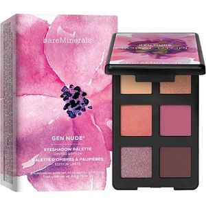 BARE MINERALS floral utopia eyeshadow palette NEW